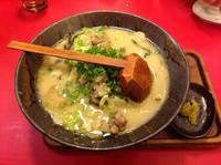 「宮崎炭鶏ラーメン」@麺屋勝水の写真