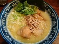 「【限定】濃厚鶏そば(しお) ¥800」@中華そば 旋の写真
