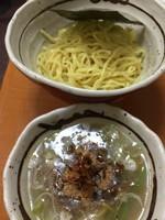 「和風つけ麺(温)」@和風らーめん 金子の写真