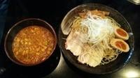 「辛味噌つけそば(並)(2倍)」@廣島つけ麺本舗 ばくだん屋 本店の写真