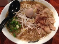 「サンマらーめん(醤油)麺W:850円」@永斗麺の写真