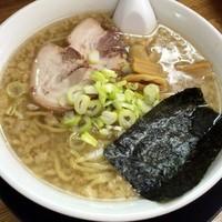 「正油らーめん(アブラ多め)650円」@麺屋てんきの写真