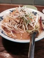 「「限定」味噌ラーメン ➕ ワンタン」@松波ラーメン店の写真