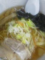 「Aセット(醤油ラーメン+半チャーハン)\650(ランチ価格)」@鶴の恩返しの写真