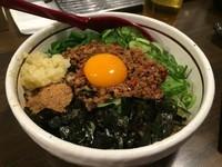 「台湾まぜそば(追い飯付き)」@麺屋 やまひで 奈良本店の写真