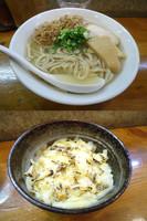 「『銀だらごまだし麺+〆のチーズご飯(¥800+150)』」@らーめん・つけめん いつ樹の写真