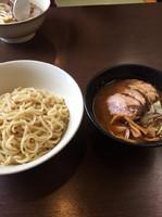 「半チャーシューつけ麺」@創作らーめん 小川流 二本松店の写真