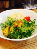 「カレー汁なし担々麺+チーズ+ネギ増+ライス」@汁なし担々麺 麻沙羅の写真