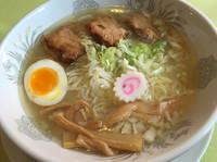 「会津山塩ラーメン810円」@山の駅食堂の写真