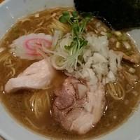「【新メニュー】豚骨魚介(大盛)180g  800円」@麺や  ふる川の写真