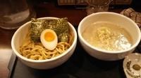 「塩豚骨つけめん(柚子胡椒)」@麺匠 和蔵の写真
