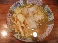 「にんにくラーメン(650円)」@飯田名物酒井ちゃんの屋台ラーメンの写真
