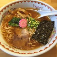 「あっさり醤油」@自然派ラーメン処 麻ほろ 小樽本店の写真
