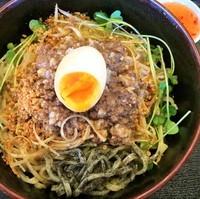 「汁なし黒ごま担々麺(冷)790円」@和風らーめん 凪の写真