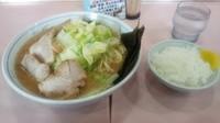 「キャベツチャーシュー麺中盛」@ラーメン 中島家の写真