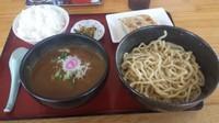 「カレーつけ麺」@中華そばつけ麺 魚介の達人 久兵衛 取手店の写真