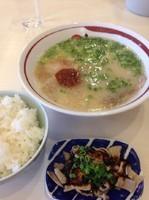 「ラーメン   ホルモンセット」@一味ラーメン 久留米合川店の写真