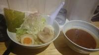 「豚骨辛味噌粕つけ麺」@麺や TOSHIの写真