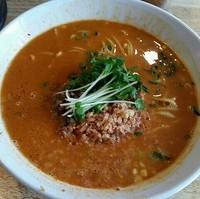 「【新メニュー】担々麺(並)800円」@麺や  ふる川の写真