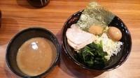 「濃厚つけ麺(あつもり)+味玉」@横浜家系ラーメン 壱角家 門前仲町店の写真