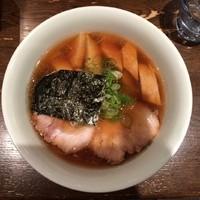 「むかし竹の子らぁめん980円」@支那そばや 新横浜ラーメン博物館店の写真