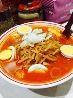 「味噌卵麺」@蒙古タンメン 中本 東池袋店の写真