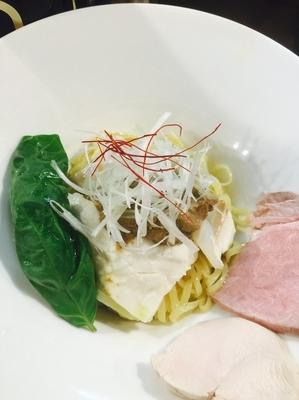 「限定 蒸し鯛とポルチーニ和えそば」@麺庵 小島流の写真