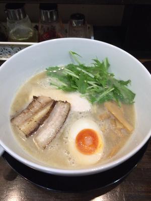 「鶏白湯」@まるどり 熊谷本店の写真