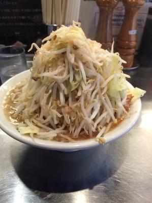 「煮干ラーメン 720円」@らーめん大 竹ノ塚店の写真