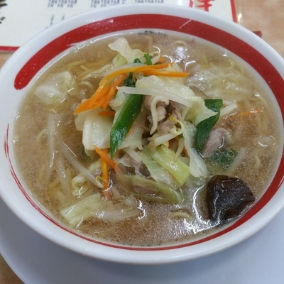 「近江ちゃんぽん野菜小盛り」@ちゃんぽん亭総本家 彦根駅前本店の写真