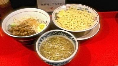 「つけ麺(小) 750円」@ダントツラーメン 高松一番店の写真