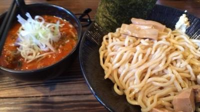 「辛味つけそば 大盛り サービス 生姜 サービス ¥800」@麺処くるりの写真