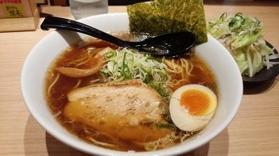 「和風魚介醤油+野菜」@つけ麺らーめん 春樹 イオンモール東久留米店の写真