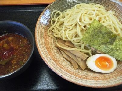 「辛つけ麺750円」@麺や 壽光の写真