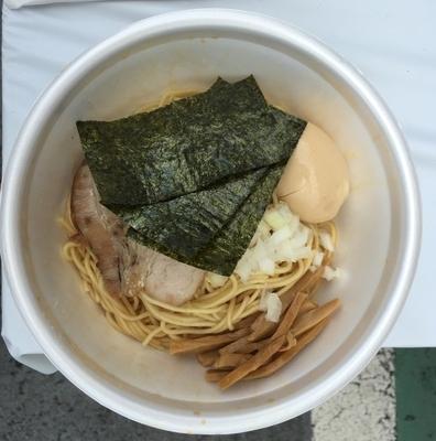 「鶏油そば」@くり山 ファーミリ―通り商店街店の写真