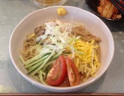 「冷やし中華 750円」@麺や 風まかせの写真