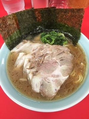 「チャーシュー麺中盛、硬め濃いめ」@横浜家系ラーメン 心家の写真