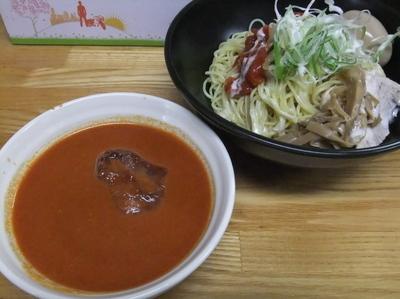 「【季節限定】冷やしつけ麺トマトソース(800円)」@麺処福吉ATSUSHIの写真