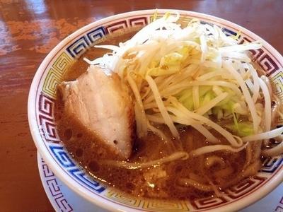 「ラーメン(小、野菜ニンニクアブラ全て普通)」@太一商店 小山店の写真