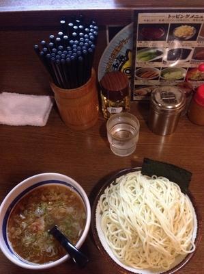 「つけ麺 大」@大勝軒 十五夜 新宿御苑店の写真
