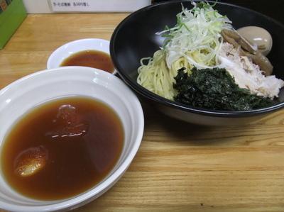 「【季節限定】青じそと柚子のあっさり冷やしつけ麺(750円)」@麺処福吉ATSUSHIの写真