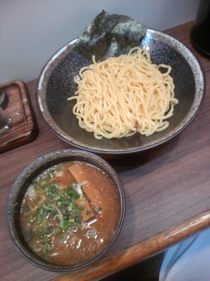 「濃厚味噌つけ麺(中盛)780円」@麺屋 ながみねの写真