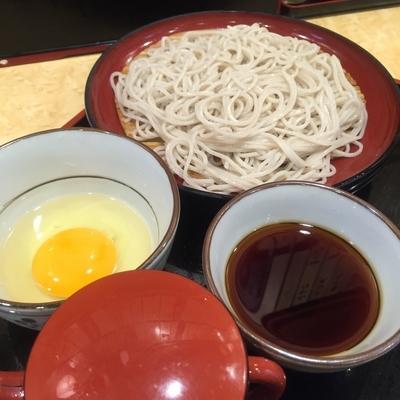 「もり(¥240)+玉子(¥40)」@小諸そば 京橋店の写真