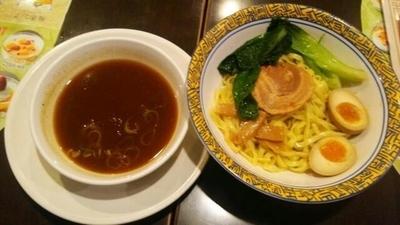 「こだわり4種節をつかった極旨つけ麺」@バーミヤン 国領駅前店の写真