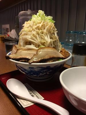 「富士山ラーメン野菜マシ」@優勝軒 稲葉店の写真