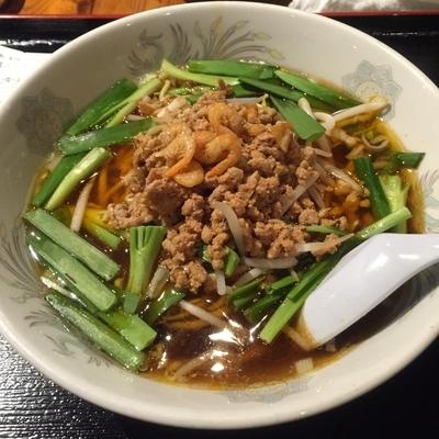 「台湾拉麺(¥500)」@三百宴や 赤坂見附店の写真