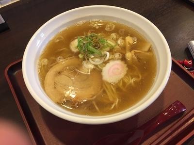 「醤油ラーメン」@三ツ山製麺工場 ラーメン事業部の写真