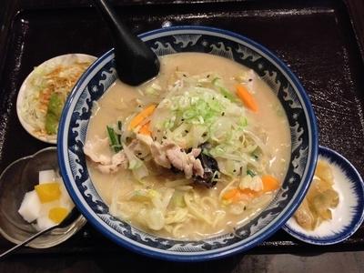 「野菜タンメンセット」@揚州達人 金町店の写真