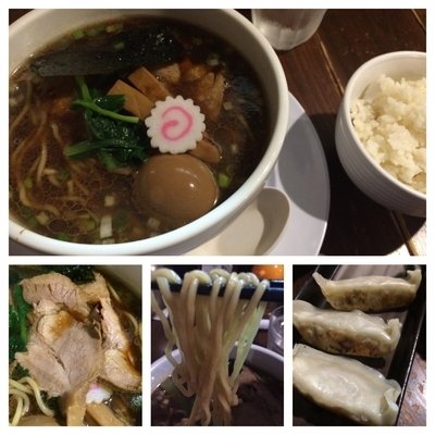 「ド生姜醤油らー麺 大盛 780円 餃子3個クーポンサービス」@俺達のらー麺屋 ちょび吉の写真