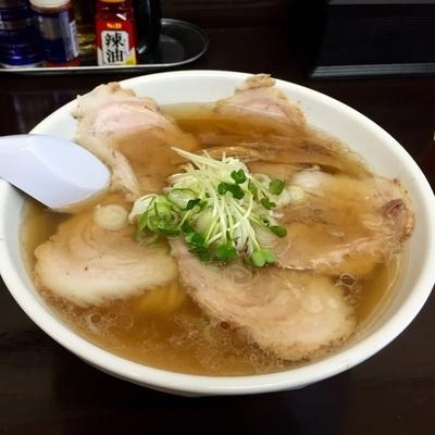 「チャーシュー麺 太麺」@麺屋 卯月の写真